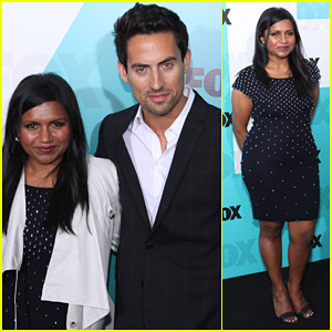 Mindy Kaling: Fox Upfront with 'The Mindy Project' Cast!