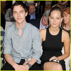 Jennifer Lawrence & Nicholas Hoult: Monaco Mates