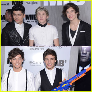 One Direction: 'Men in Black 3' NYC Premiere!