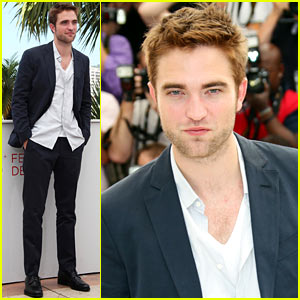 Robert Pattinson: 'Cosmopolis' Photo Call!