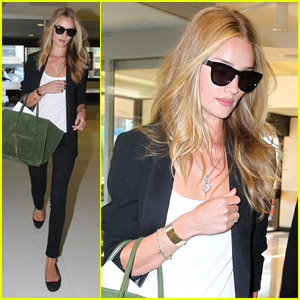 Rosie Huntington-Whiteley: 'Thanks For Having Me, Sydney!'
