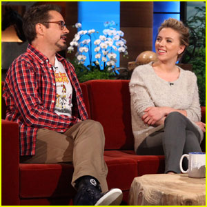 Scarlett Johansson & Robert Downey Jr: 'Ellen' Show!