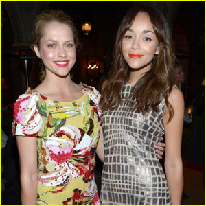 Ashley Madekwe & Teresa Palmer: Chateau Marmont Mates!