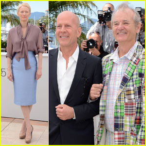 Tilda Swinton: 'Moonrise Kingdom' Photo Call in Cannes!