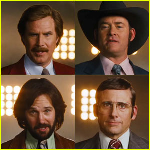 Will Ferrell's 'Anchorman 2' Teaser Trailer - Watch Now!