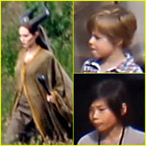 Angelina Jolie: 'Maleficent' Cavalry Scenes!