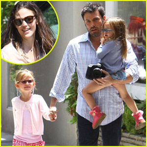 Ben Affleck: Lunch with Violet &#038; Seraphina!