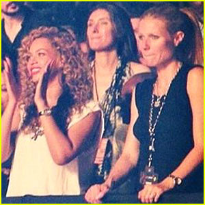 Beyonce & Gwyneth Paltrow: Watch the Throne Tour!
