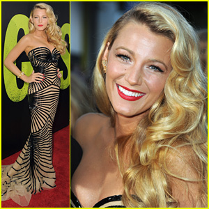 Blake Lively: 'Savages' Premiere!