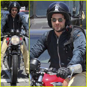 Bradley Cooper: Motorcycle Man!