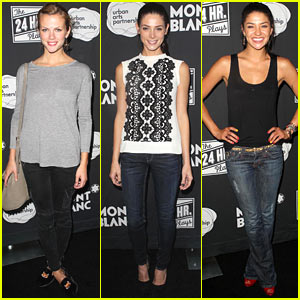 Brooklyn Decker & Ashley Greene: 24 Hour Plays Benefit!