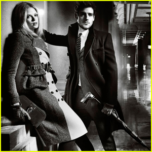 Gabriella Wilde & Roo Panes: New Burberry Campaign!