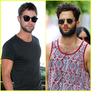 Chace Crawford & Penn Badgley: 'Gossip' Guys!