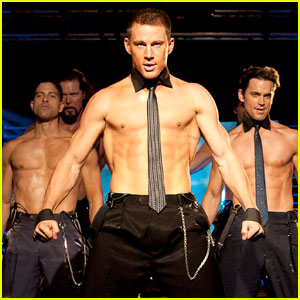 Channing Tatum: Shirtless 'Magic Mike' Stills!
