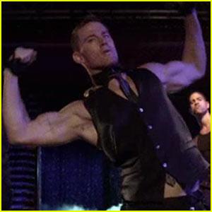 Channing Tatum: 'Magic Mike' Strip Clip Teaser!
