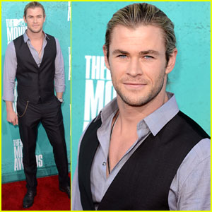Chris Hemsworth - MTV Movie Awards 2012
