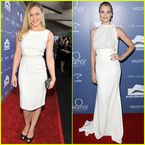 Abbie Cornish & Yvonne Strahovski - Australians in Film Awards