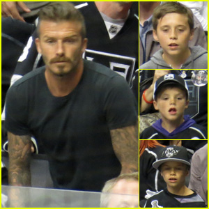 David Beckham: Stanley Cup Finals with the Boys!