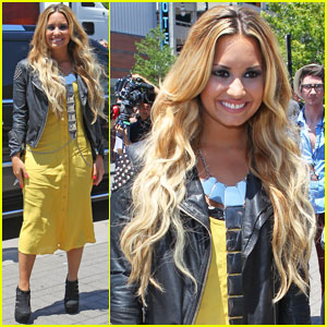 Demi Lovato: Kansas City 'X Factor' Auditions!