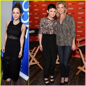 Emily VanCamp & Ginnifer Goodwin: 'Variety' Emmy Studio!