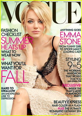 Emma Stone Covers 'Vogue' July 2012