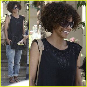 Halle Berry: Eveleigh Lunch!