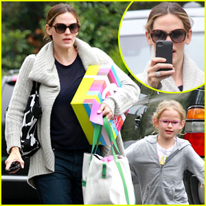 Jennifer Garner: Birthday Party with Violet!