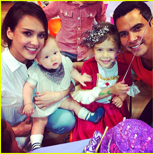 Jessica Alba: Honor Celebrates 4th Birthday!