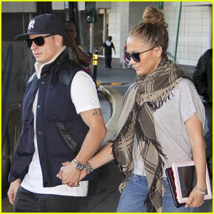 Jennifer Lopez 'Just Landed in Rio!'