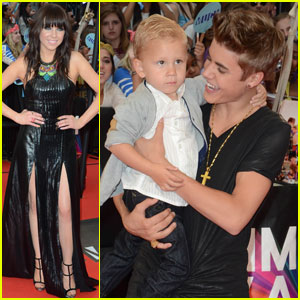 Justin Bieber &amp; Carly Rae Jepsen - MuchMusic Video Awards 2012