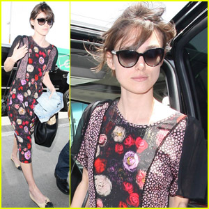 Keira Knightley: Flying in Florals