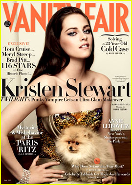 Kristen Stewart Covers 'Vanity Fair' July 2012