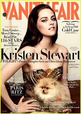 Kristen Stewart Covers 'Vanity Fair' July 2012