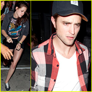 Robert Pattinson & Kristen Stewart: Largo Lovebirds!