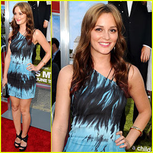 Leighton Meester: 'That's My Boy' Premiere!