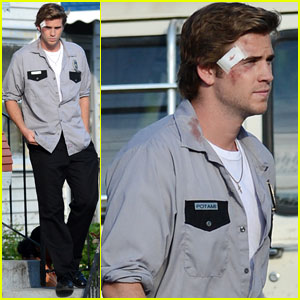 Liam Hemsworth: Black Eye on 'Empire State' Set