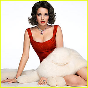 Lindsay Lohan As Elizabeth Taylor: 'Liz & Dick' Official Pic!