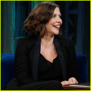 Maggie Gyllenhaal: 'Late Night with Jimmy Fallon' Visit!