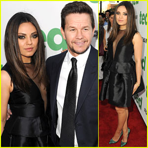 Mila Kunis & Mark Wahlberg Premiere 'Ted' in Hollywood!