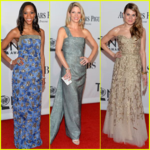 Nikki M. James & Kelli O'Hara - Tony Awards 2012 Red Carpet