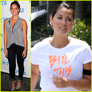 Olivia Munn: 'Make Gay Marriage Legal'