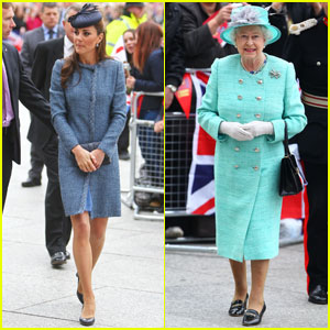 Prince William, Kate & the Queen: Nottingham Jubilee Visit!