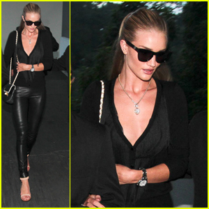 Rosie Huntington-Whiteley Inspired by Dalai Lama