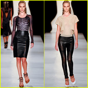 Rosie Huntington-Whiteley: 'Animale' Sao Paulo Show!