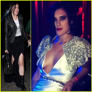 Rumer Willis: New Blue 'Do!
