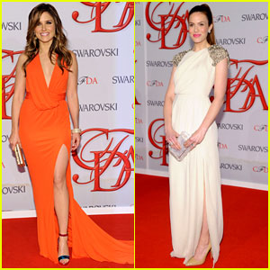 Sophia Bush & Mandy Moore - CFDA Fashion Awards 2012