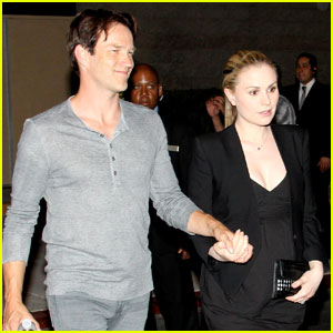 Anna Paquin: Boxing Baby Bump