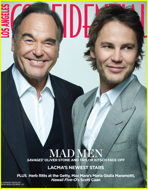 Taylor Kitsch Covers 'Los Angeles Confidential' Summer 2012