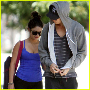Vanessa Hudgens & Austin Butler: Weekend Workout!