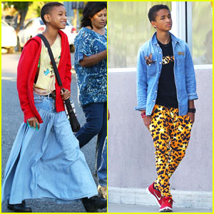 Jaden Smith: Leopard Print Friday